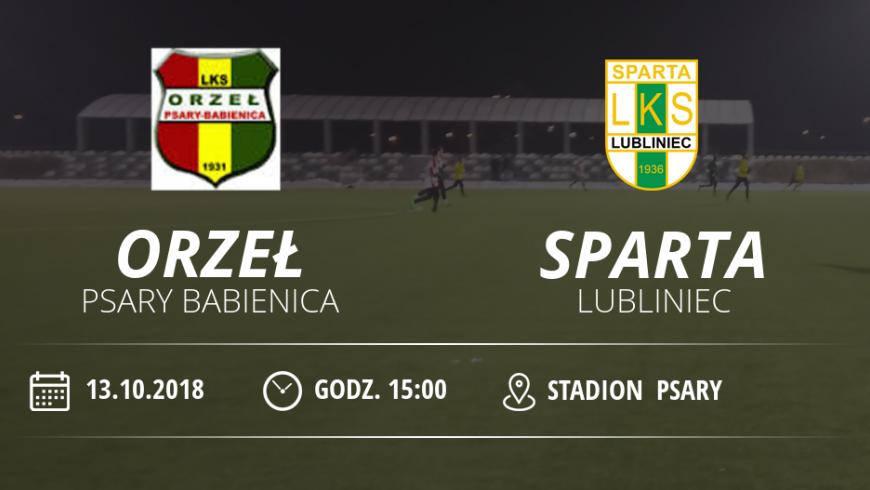 """Orzeł Psary - Babienica vs LKS """"Sparta"""" Lubliniec"""