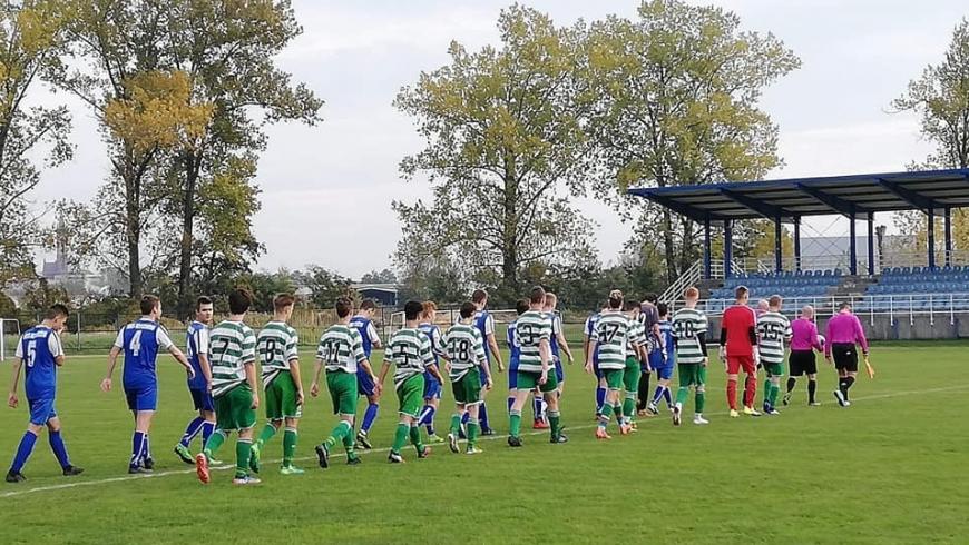 """Juniorzy Starsi MKS Myszków vs LKS """"Sparta"""" Lubliniec"""