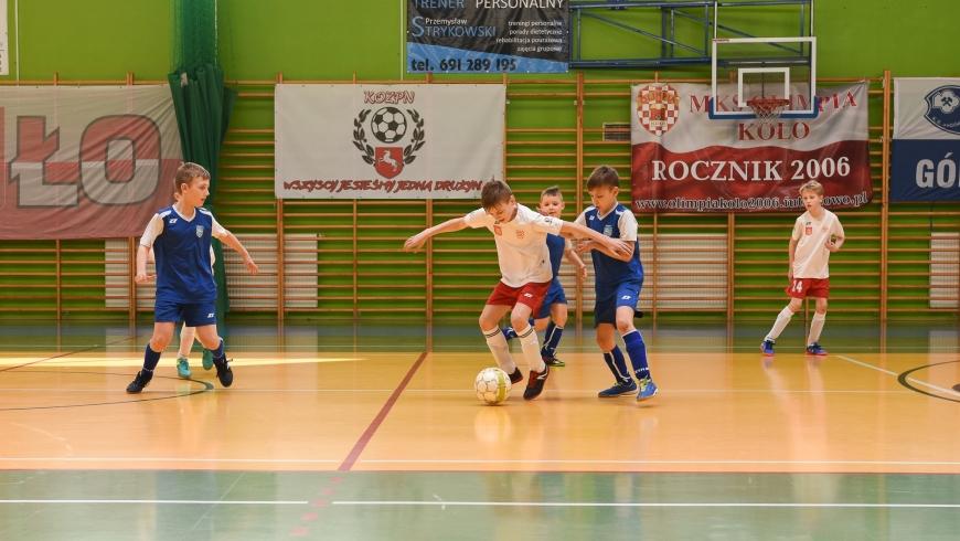 ROCZNIK 2006: Halowe Mistrzostwa okręgu konińskiego Młodzika Starszego D1