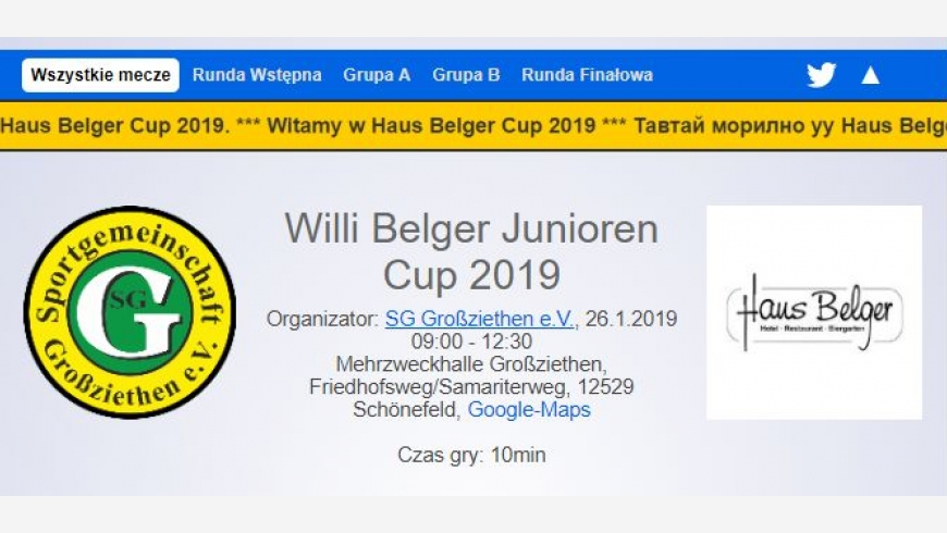 Wyjazd na turniej do Niemiec