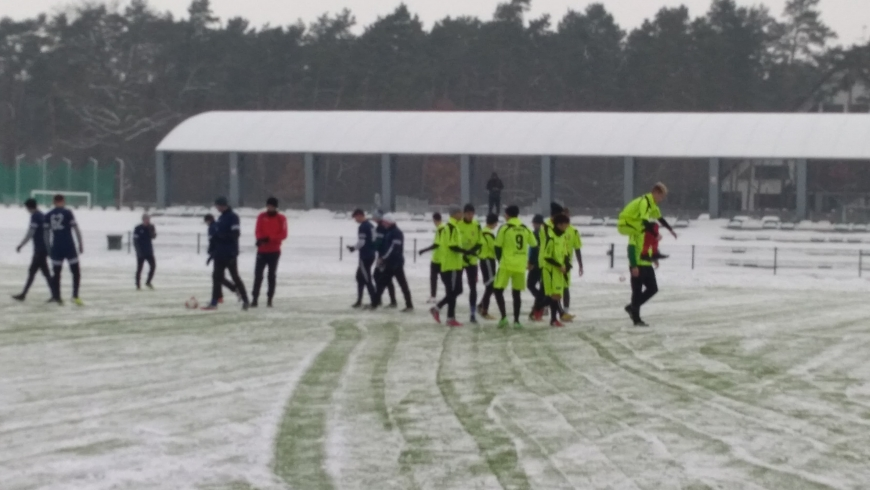 "Relacja sparingu LKS ""Sparta"" Lubliniec vs Promień Glinica"