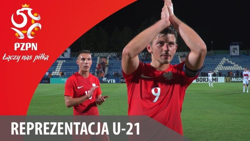 U21 POLSKA - GRUZJA - WTOREK ROCZNIK 2004/5/6