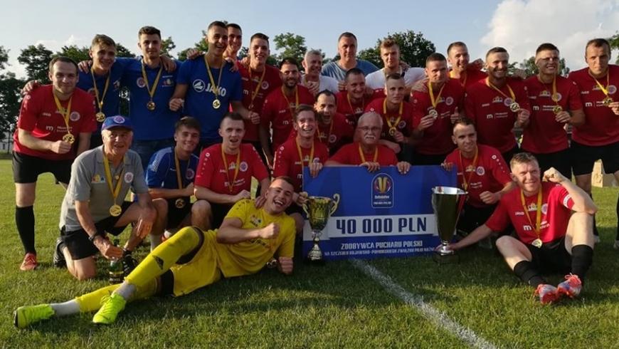 Wygrywamy Okręgowy Puchar Polski!