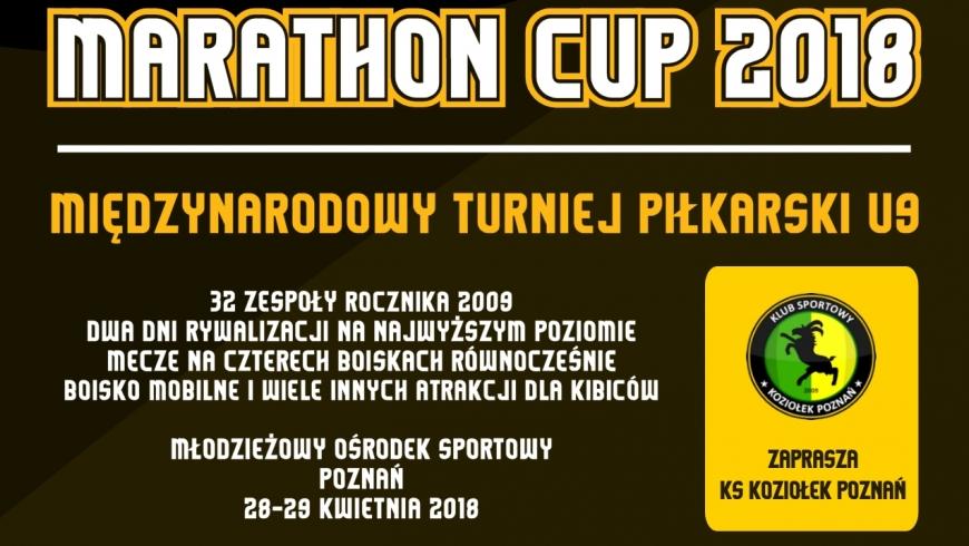 ce81f0e60 ZAGRAMY W MIEDZYNARODOWYM TURNIEJU MARATHON CUP - UKS Talent Poznań