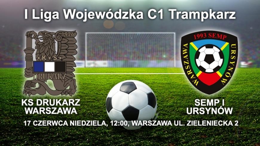 XIV kolejka I liga wojewódzka C1 Trampkarzy RW - powołania