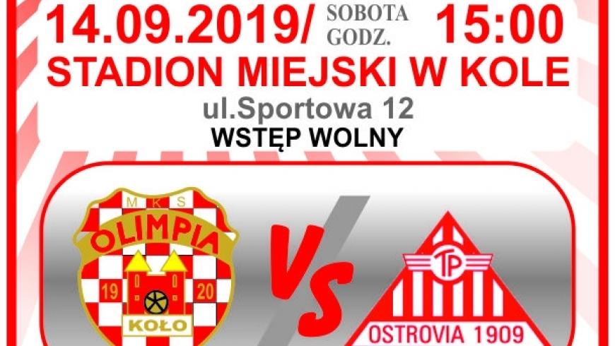 Najbliższe spotkanie MKS Olimpii Koło