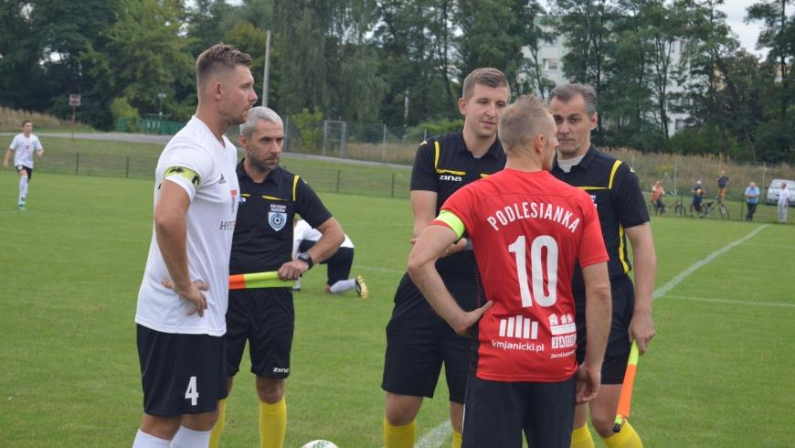 Mecz AKS Górnik Niwka Sosnowiec - Podlesianka Katowice w obiektywie [ZDJĘCIA]