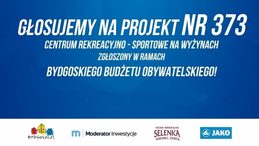 Powtórzone głosowanie w budżecie obywatelskim. Zagłosuj na nasz projekt!
