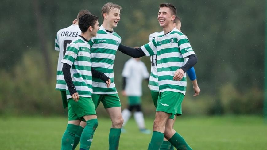 U17: Kapitalne derby juniorów młodszych, Dalin pokonany 7:1!