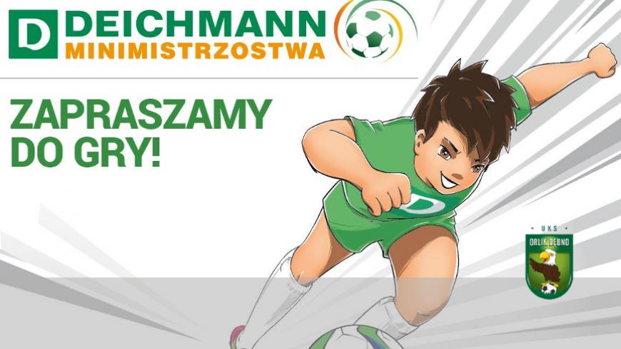 Deichmann Mini Mistrzostwa - zgłoszenia