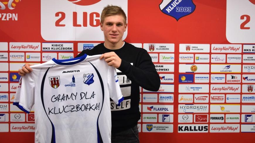 Konrad Zaradny nowym zawodnikiem MKS-u