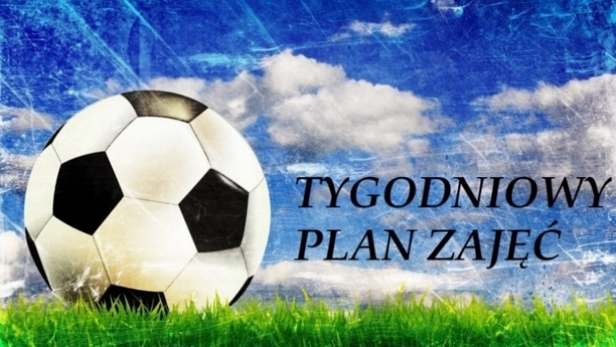 Plan zajęć (4 - 10 czerwiec)
