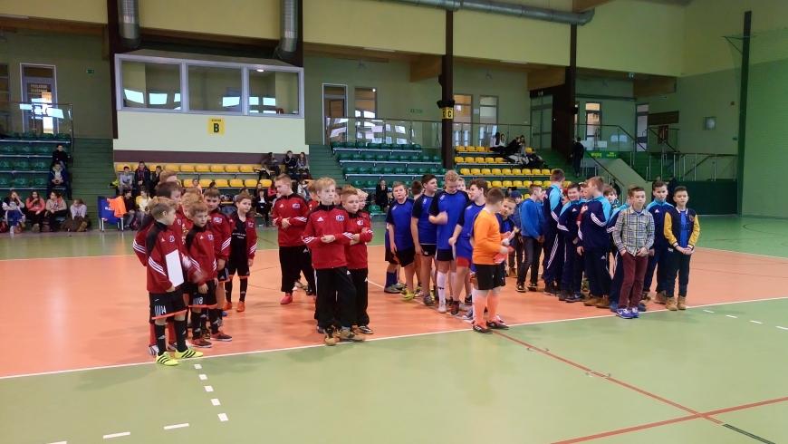 Mikołajkowy halowy turniej piłki nożnej Nidzica, 14.12.2016r.
