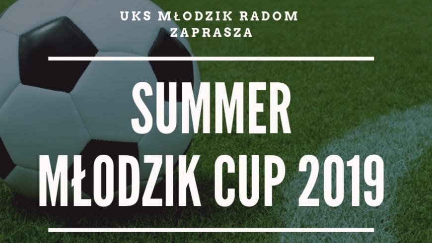 Zapraszamy na MŁODZIK SUMMER CUP 2019 !
