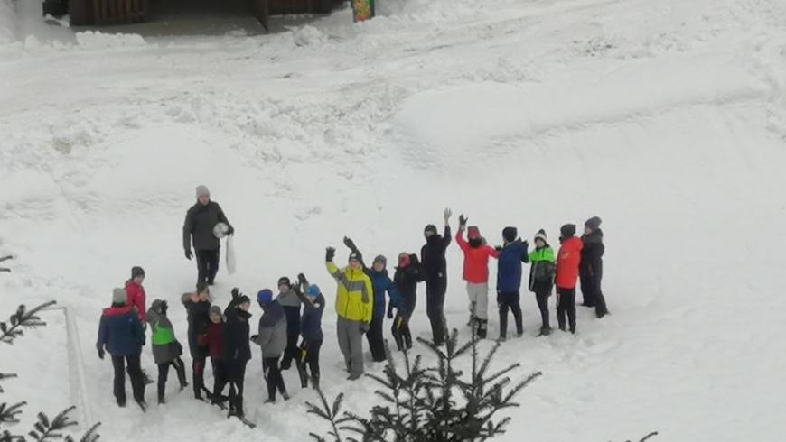 Fotorelacja z obozu zimowego- dzień I