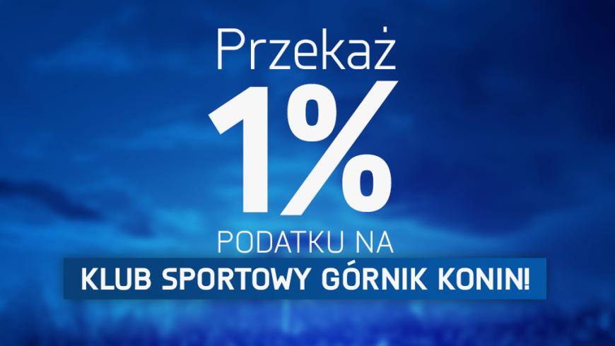 1% podatku na KS Górnik Konin