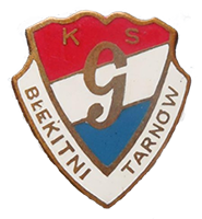 """przypinka GKS """"Błękitni"""" Tarnów"""