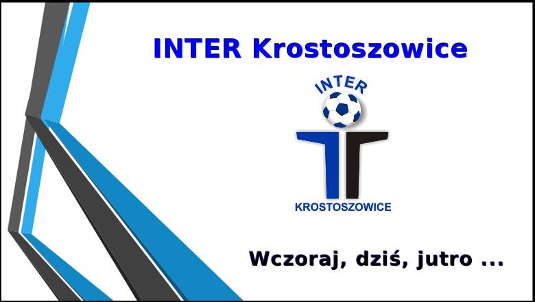 INTER Krostoszowice - wczoraj, dziś, jutro ...